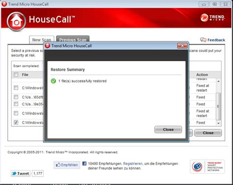 housecall trend housecall 7 1 von trend micro