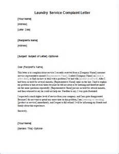 laundry service complaint letter word excel templates