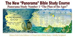 the new quot panorama quot bible study course no 1 the plan of
