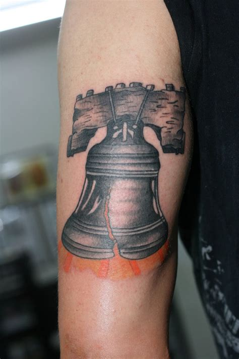 bell tattoos liberty bell tricep by luckycattattoo on deviantart
