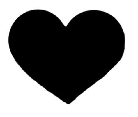 imagenes en negro png corazon negro imagui