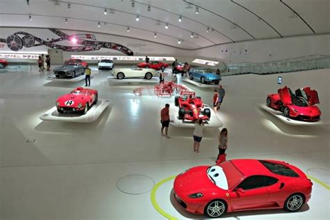 Ferrari Museum Italy by Visiting The Museum Enzo Ferrari Modena In Italy Fast