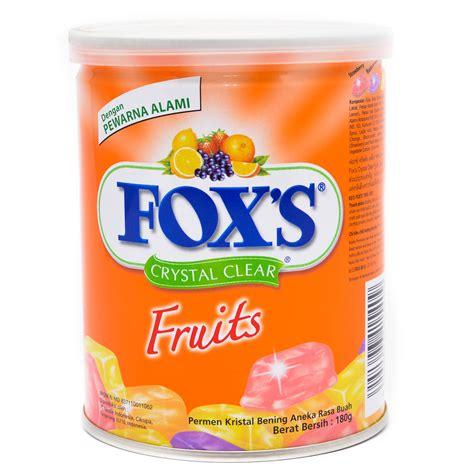 Foxs Berries Bag 90 Gr by Supplier Permen Assortment