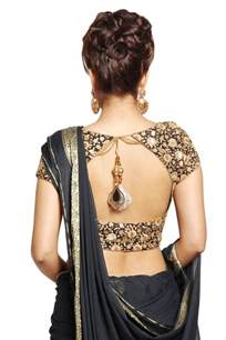 Drape A Saree Latest Blouse Back Designs Back Neck Designs For Designer