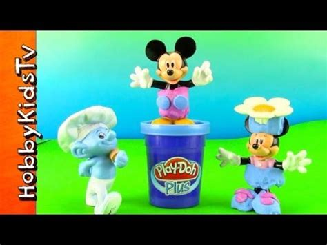 New Play Doh Minnie Mouse play doh mickey mouse minnie mouse make by baker