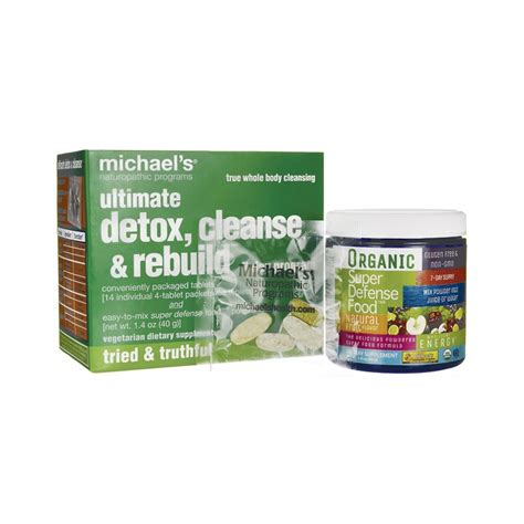 Best Detox Cleanse by Ultimate Detox Cleanse Rebuild 7 Day Program 1 Kit