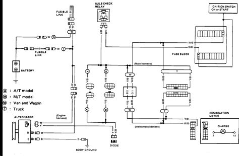 88 nissan d21 wiring diagram wiring diagram with description