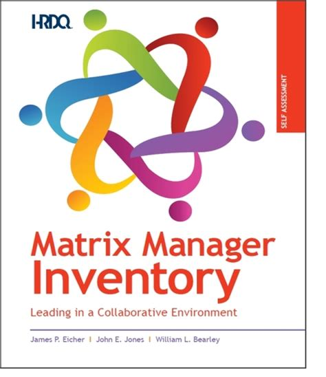 Network Assessment Exercise Abridged Mba Version by Matrix Manager Inventory Self Assessment Oec 178 Solutions
