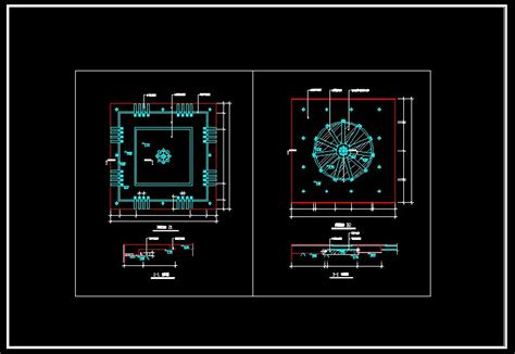 Ceiling Plan Dwg by Ceiling Design And Detail Plans V4 Cad Drawings