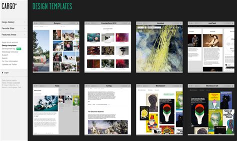Cargo Portfolio Templates Which Portfolio Hosting Site Is Right For You The Shutterstock Blog