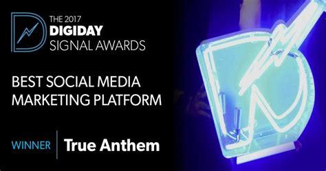 about votigo social media marketing platform true anthem named best social media marketing platform