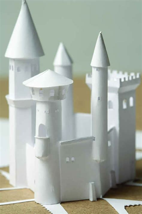 How To Make A Paper Castle Easy - tigar hare studios