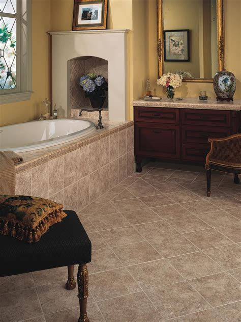 bathroom floor tiles sizes choosing bathroom flooring hgtv