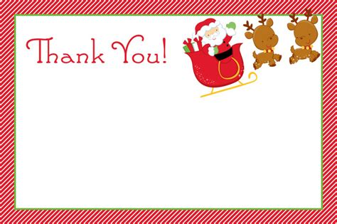 Printable Thank You Holiday Cards Free | printable christmas thank you cardskitty baby love