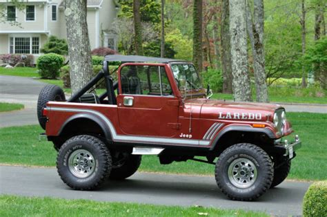 jeep 1986 cj7 1986 amc jeep cj7 laredo collector s edition classic