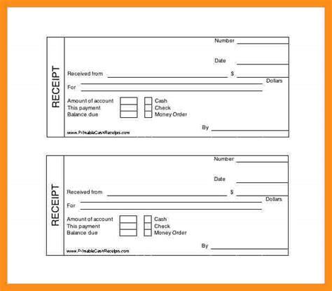 free printable receipt uk receipt template uk 28 images 6 free printable invoice