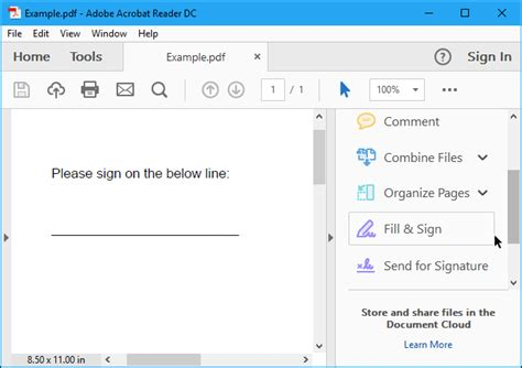 Sign Pdf Documents how to electronically sign pdf documents without printing