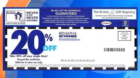 Bed And Bath Beyond Coupons bed bath and beyond might be getting rid of 20 percent