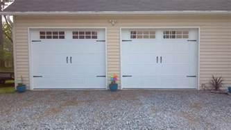 2 Car Garage Doors 2 Single Garage Doors With Hardware 2 Pineville Nc A Plus Garage Doors