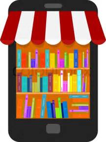 design online book icon design for online book store isolated on white