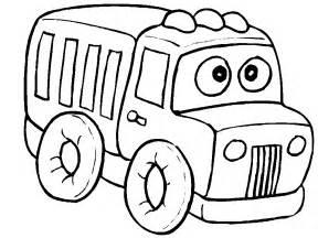 truck coloring pages coloringpages1001 com