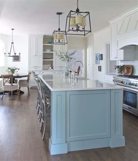 blue kitchen islands best 25 blue kitchen island ideas on painted