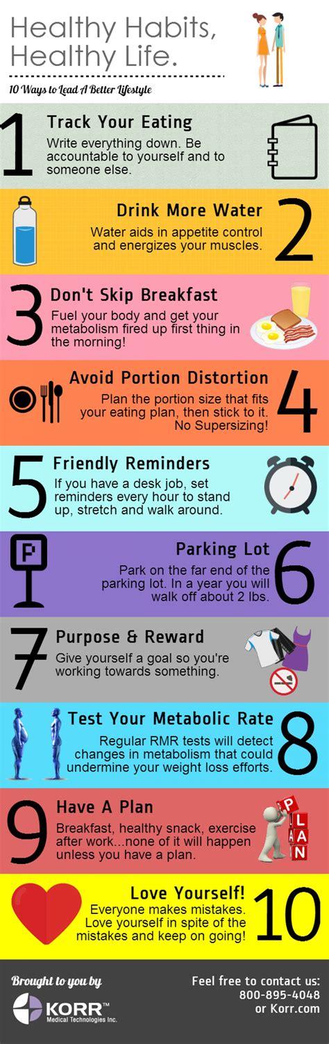 Healthy Habits For A Healthy Healthy Habits Healthy Visual Ly