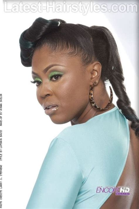elegant hairstyles mohawk hairstyles for black women with