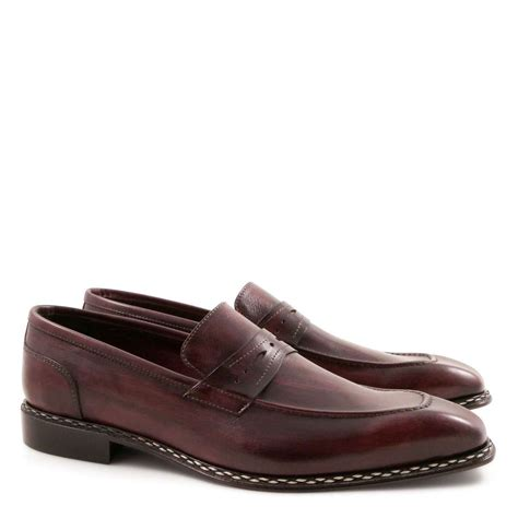 Handmade Loafers For - loafers for handmade in leather leonardo