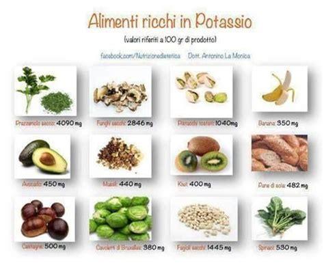 alimenti magnesio magnesio e potassio due macroelementi essenziali
