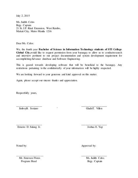 application letter for barangay bcda letter