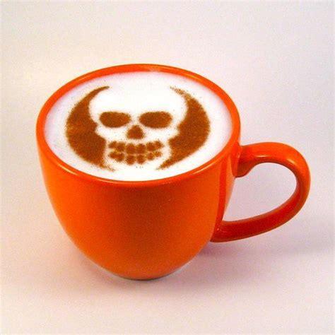 Skull Caffee Latte Medium Hold Pomade coffee skull