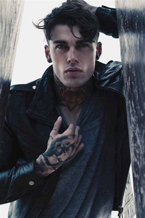 ink it up traditional tattoos tattooed model stephen james