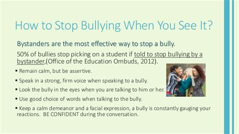 stop bullying caign