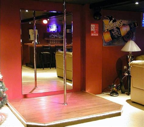 stripper pole in bedroom man cave ideas part 1 epic man cave