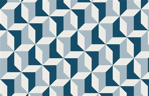 Abstract Blue Geometric Wallpaper MuralsWallpaper.co.uk