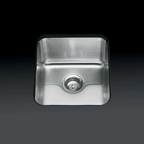 Stainless Steel Kitchen Sinks Uk Kohler Icerock 3331 Single Stainless Steel Sink Kitchen Sinks Taps
