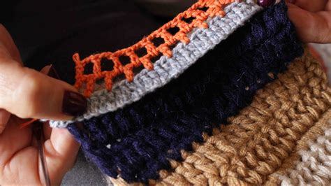 tejer bolsas sencilla a ganchillo c 243 mo tejer una bufanda sencilla 11 pasos con fotos