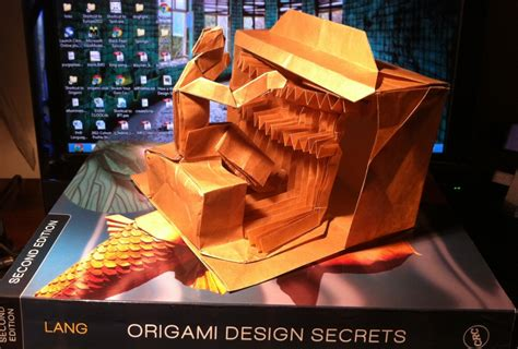 Origami Design Secrets - 403 lang s organist setting the crease