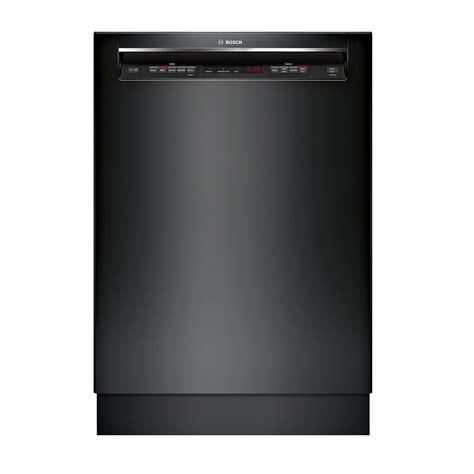 I Klakson Bosch Supertone Black bosch shem63w56n 24 quot 300 series built in dishwasher w recessed handle black
