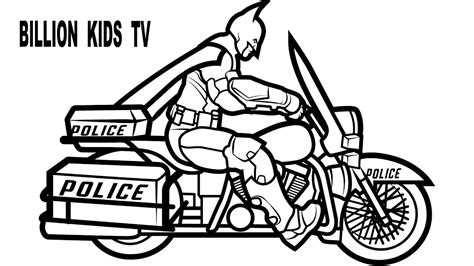 dirtbike coloring pages to print batman motorcycle