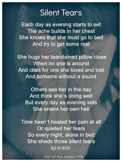 silent tears quotes pinterest  head  ojays  words