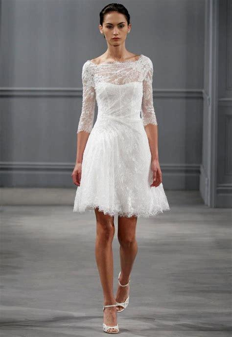 Schlichte Kurze Brautkleider by Lhuillier Wedding Dress Sang Maestro