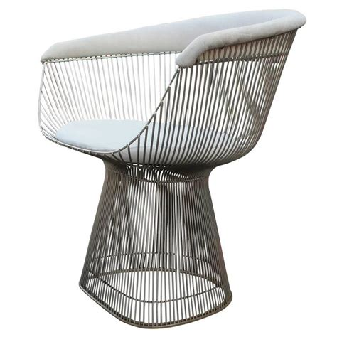 Platner Dining Chair Set Of Four Iconic Warren Platner For Knoll Dining Chairs