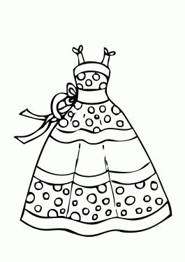 coloring pages of pretty dresses dress coloring page www pixshark com images galleries