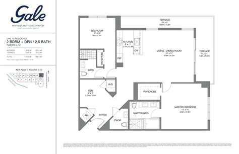 the gale floor plan gale boutique hotel residences condominium for sale