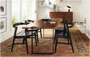 room and board dining tables boy a house slab dining table chilton room and