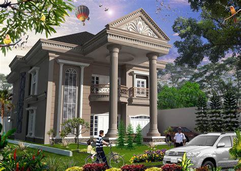 rumah mewah bergaya klasik multidesain arsitek