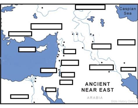 map of middle east quiz ot 5000 ancient near east map quiz