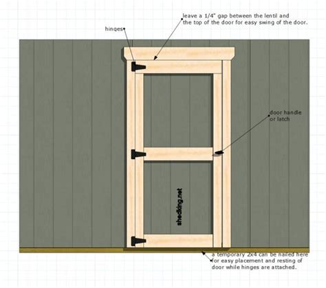 Building A Shed Door by 13 Comprehensive Plans And Walk Thru S To Build Shed Doors